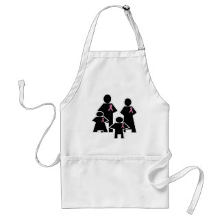 Breast Cancer Family Support Apron