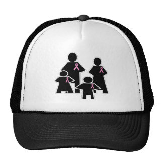 Breast Cancer Family Support Hat
