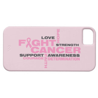 Breast Cancer Fight Collage iPhone 5 Case