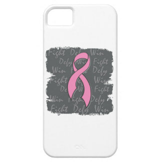 Breast Cancer Fight Defy Win iPhone 5 Covers