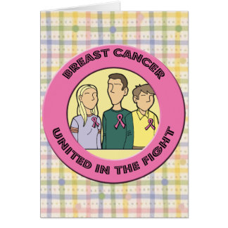 Breast Cancer Fight Greeting Card