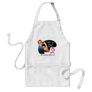 Breast Cancer Fight Like a Girl Rosie The Riveter Aprons
