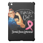 Breast Cancer Fight Like a Girl Rosie The Riveter iPad Mini Cases