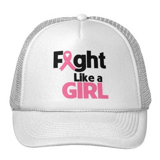 Breast Cancer Fight Like a Girl Trucker Hat