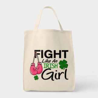 Breast Cancer Fight Like An Irish Girl 1 Tote Bag