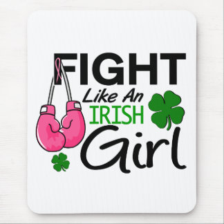 Breast Cancer Fight Like An Irish Girl 1 Mouse Pad