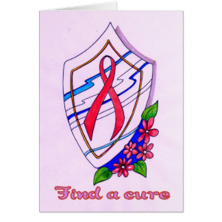 Breast Cancer: Find a cure Card