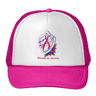 Breast Cancer: Find a cure Hat
