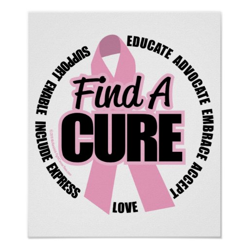 Breast Cancer Find A Cure Poster
