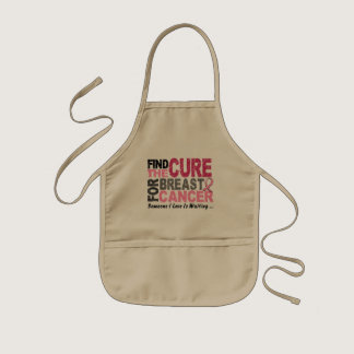 BREAST CANCER Find The Cure 1 Kids' Apron