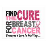 BREAST CANCER Find The Cure 1 Postcards