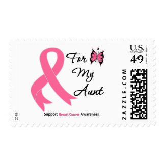 Breast Cancer For My Aunt Stamps