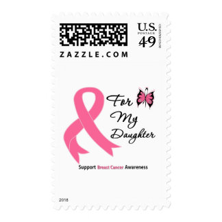 Breast Cancer For My Daughter Stamp