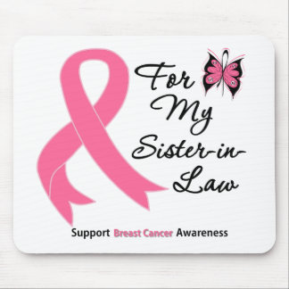 Breast Cancer For My Sister-in-Law Mouse Pad