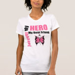 Breast Cancer Forever My Hero My Best Friend T-Shirt