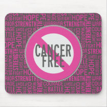 Breast Cancer Free Mouse Pad