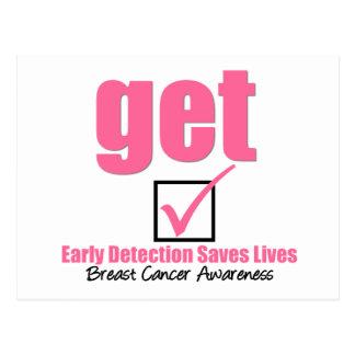 Breast Cancer Get Checked v1 Postcard