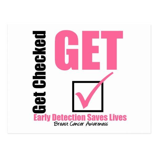 Breast Cancer Get Checked v3 Postcard