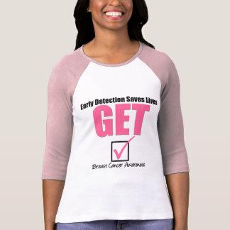 Breast Cancer Get Checked v4 Shirt