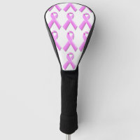 Breast cancer golf day awareness golf head cover