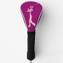 Breast Cancer Golfer Ribbon Golf Head Cover