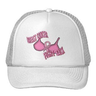 BREAST CANCER TRUCKER HAT