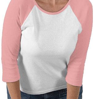 Breast Cancer Heart Customized Raglan Shirt
