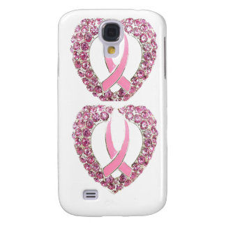 BREAST CANCER HEART GALAXY S4 COVER
