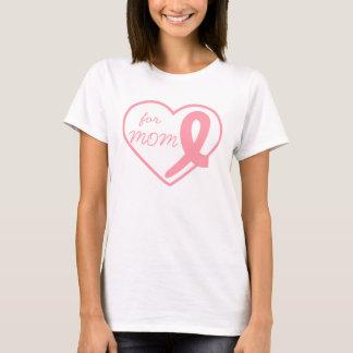 Breast Cancer Heart Ribbon Customizable T-Shirt