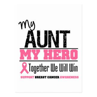 Breast Cancer Hero (Aunt) Postcard