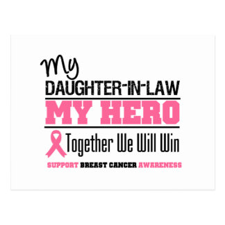 Breast Cancer Hero (Daughter-in-Law) Postcard