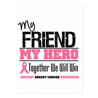 Breast Cancer Hero (Friend) Postcard
