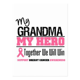 Breast Cancer Hero (Grandma) Postcard