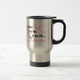Breast Cancer HERO IN MY LIFE, MY GRANDMOTHER 1 Mugs