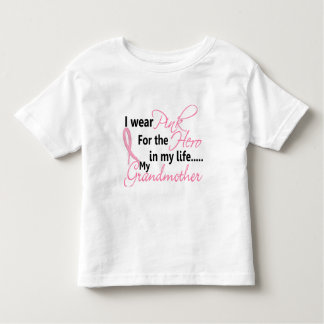 Breast Cancer HERO IN MY LIFE, MY GRANDMOTHER 1 Toddler T-shirt