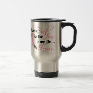 Breast Cancer HERO IN MY LIFE, MY MOM 1 Coffee Mug