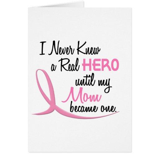 BREAST CANCER Hero MOM Card