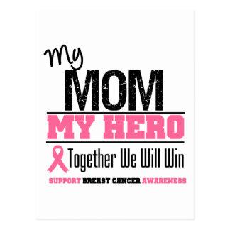 Breast Cancer Hero (Mom) Postcard
