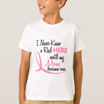 BREAST CANCER Hero MOM T-Shirt
