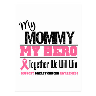 Breast Cancer Hero (Mommy) Postcard