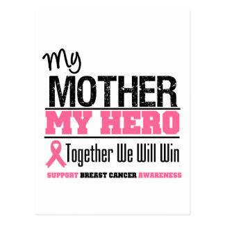 Breast Cancer Hero (Mother) Postcard