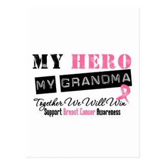 Breast Cancer HERO My Grandma Postcard