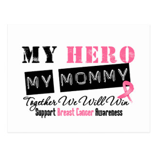 Breast Cancer HERO My Mommy Postcard