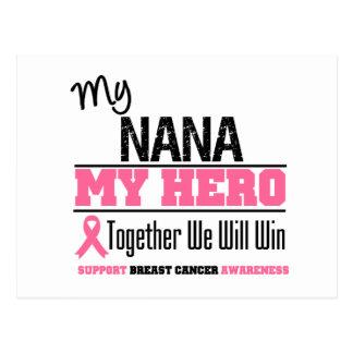 Breast Cancer Hero (Nana) Postcard