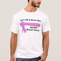 Breast Cancer Home Run Baseball Shirt