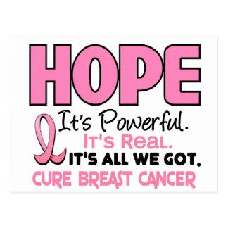 Breast Cancer HOPE 1 Postcard