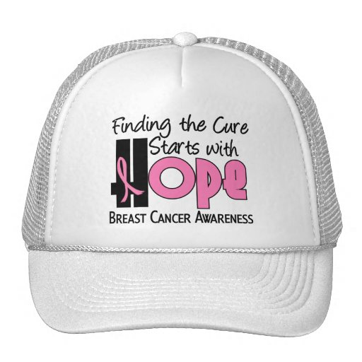 Breast Cancer HOPE 4 Trucker Hat
