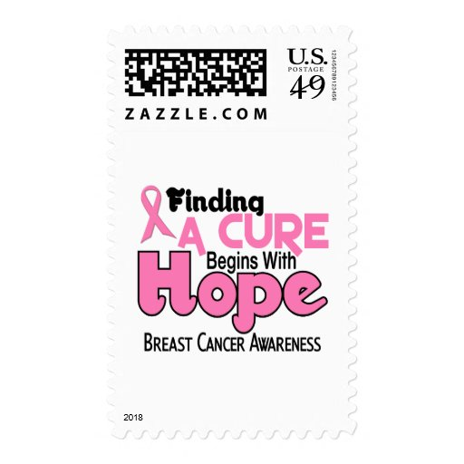 Breast Cancer HOPE 5 Stamps