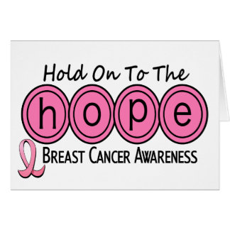 Breast Cancer HOPE 6 Card