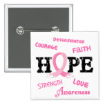 Breast Cancer HOPE 7.1 Buttons